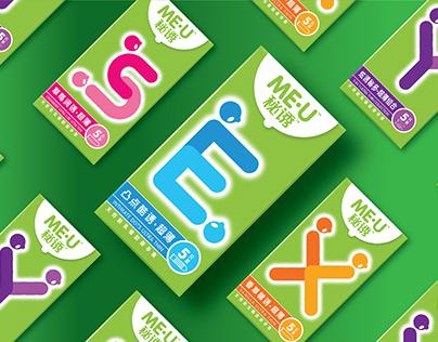Me-U 秘誘 Condom - New Product for Mid-Tier Segment 2012