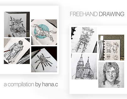 Freehand Drawing | a compilation