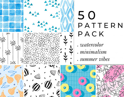 50 PATTERNS PACK
