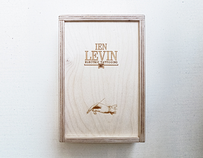 IEN LEVIN box for business cards