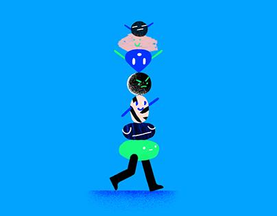 Super Sila • Character design