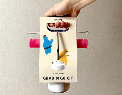The Very Hand Grab 'N Go Kit by EcoNifty