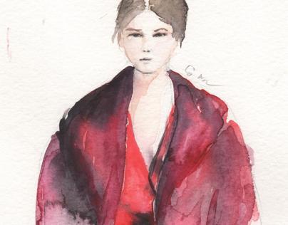 12.10.15 fashion illustration Dion Lee prefall16