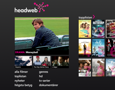 Headweb Concept