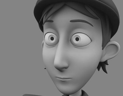 MilaFilm Boy Character