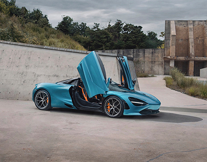 McLaren 720s spider (Belize Blue)