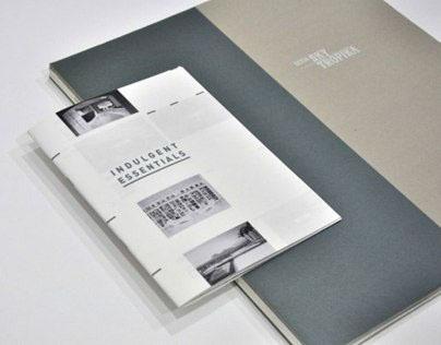 Indulgent Essentials / Brochure