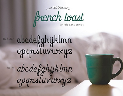 French Toast Font