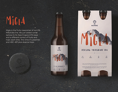 Nurme Brewery. Logo design and packaging.
