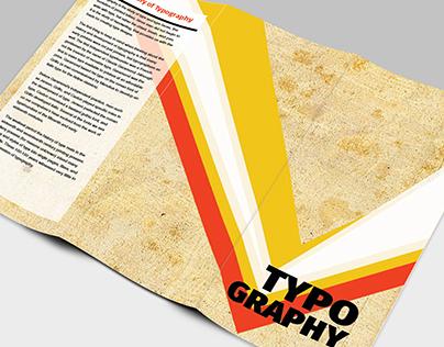 Typography History Brochure