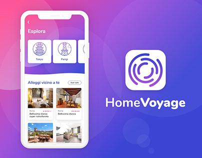 HomeVoyage - Travel App
