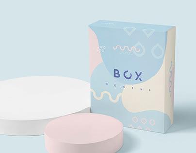 Gift Packaging Box Mockups