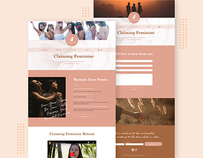 Claiming Feminine Website
