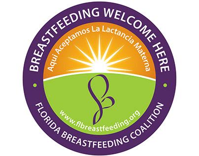 Window Cling Design - Florida Breastfeeding Coalition
