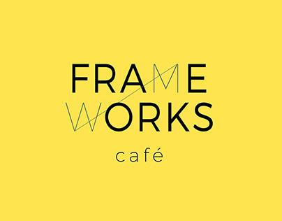 Frameworks Café | Logo, Identity & Interior Design