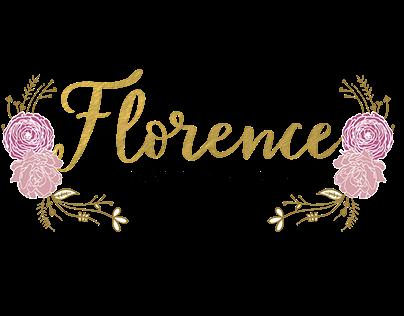 Florence | Logo, Brand Board Design