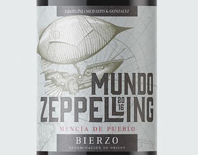 MUNDO ZEPPELLING - WINE LABEL
