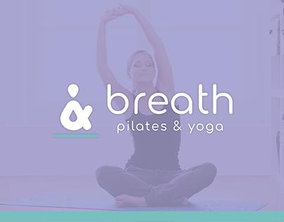 Logo design: Breath - Pilates & Yoga