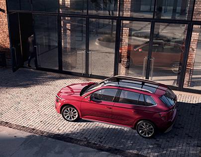 FULL CGI content for Škoda Kamiq