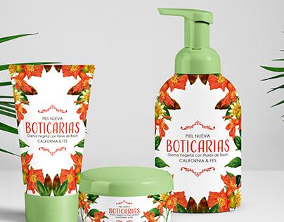 BOTICARIAS - Cremas a base de flores de bach