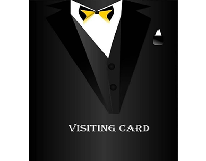 PROFESSIONAL TIE VISITING CARD