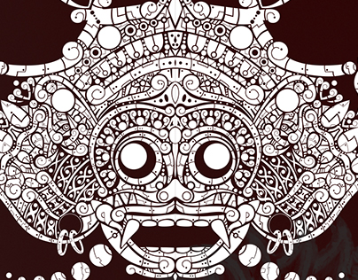INDONESIA MASK TRIBAL