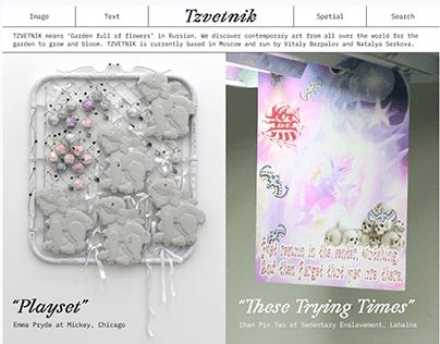 Tzvetnik Website