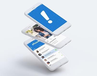 shuush! - Messaging App