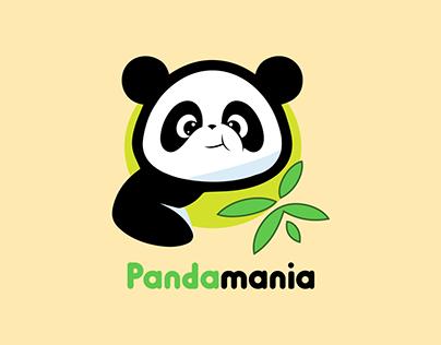 Modern Panda Logo