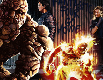 Comic book panels meet movies