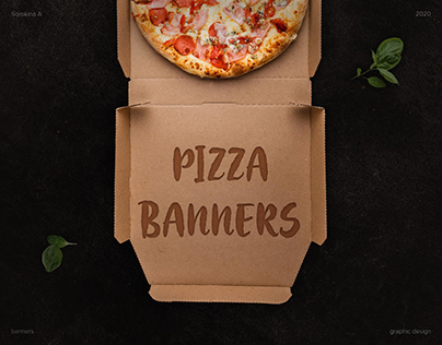 Web Banners | Pizza