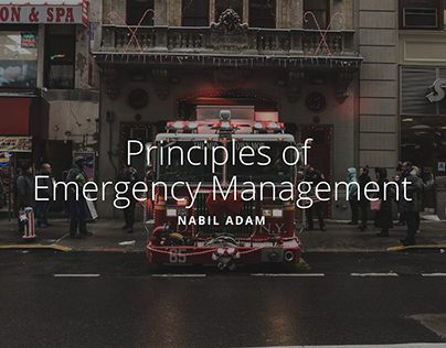 Principles of Emergency Management