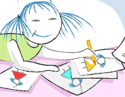 Kindle e-book Mavi Saçlı Çinli Kız