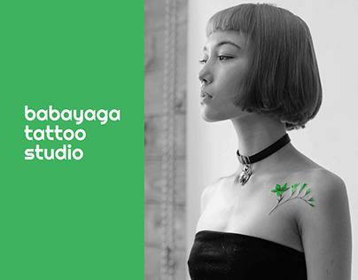 Babayaga Tattoo studio website