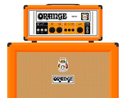 Orange OR50H guitar amp
