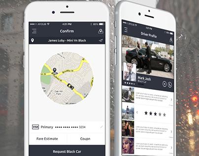Uber Redesign / Igo Clone Mobile UI - Download