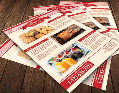 Bakery Food Flyer