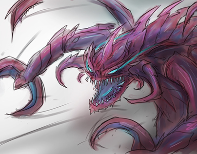 League of Legends - Void Champions Sketch Collection