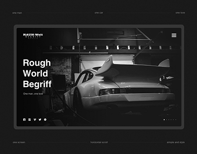 RWB Russia | website concept