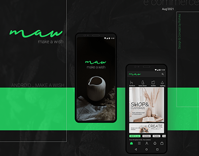 M.A.W_ E-Commerce App_ Android Presentation