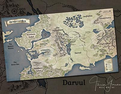 Dragenverden Map
