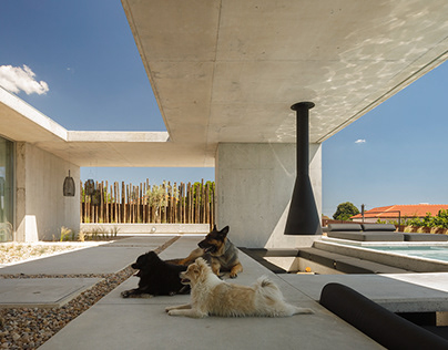 EV house in Viseu, Portugal by Artspazios group