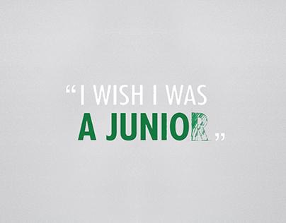 I wish I was a junior… - Heineken