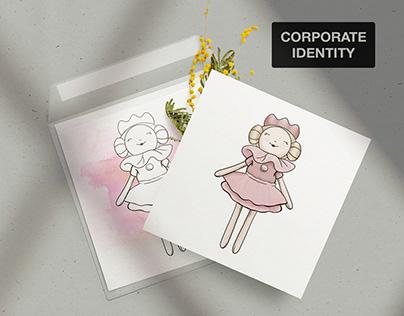 Дизайн открыток для бренда детских игрушек
