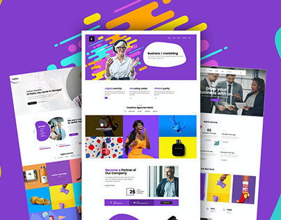 Creative And multiple Business Website For Company