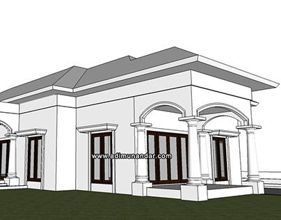 Arsitektur Mediterian Villa Mr.Tanty Trawas