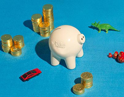 Plom Piggy Bank