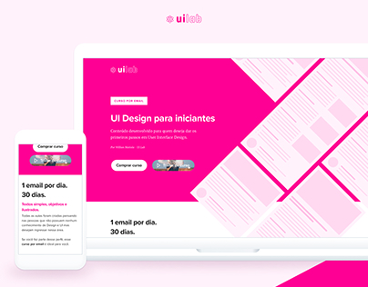 Landing Page - UI Design for beginners