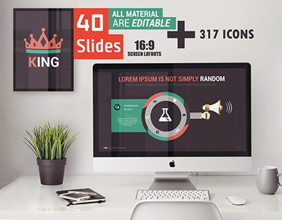 KING - Powerpoint template