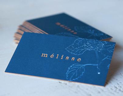 Branding: Melisse Restaurant